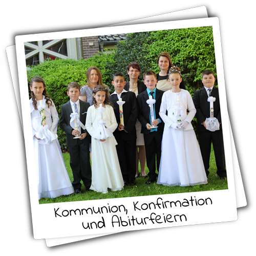 Voschaubild Kommunions-, Konfirmations- & Abiturfotos